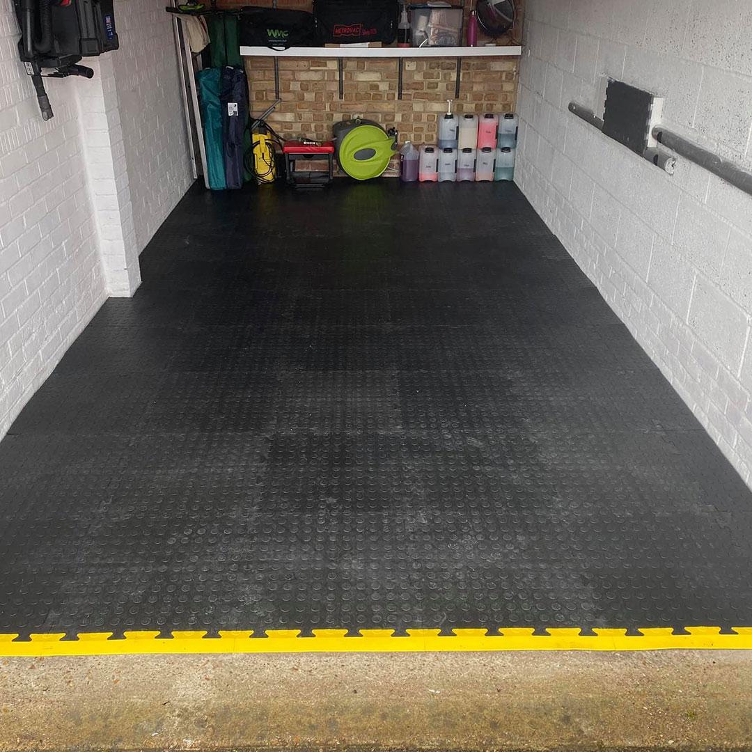 MotoMat Floor Tiles | Industrial Floor Tiles