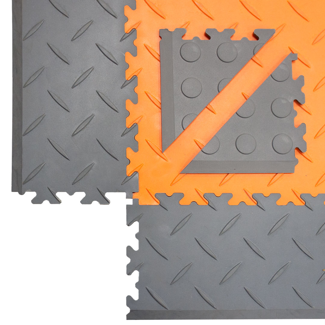 Cut Triangle Corner Edging Ramps MotoLock